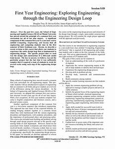 Pdf  First Year Engineering  Exploring Engineering