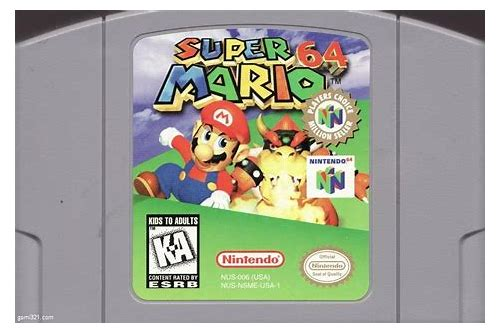 By Photo Congress || Mario N64 Rom Free Download
