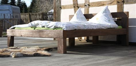 Bootssteg Möbel  Betten Aus Eichenholz