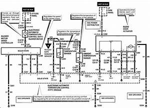 Air Conditioning Wiring Diagram 1996 Lincoln Continental