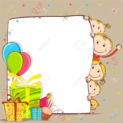 birthday card template 18 birthday cliparts vector eps jpg png design