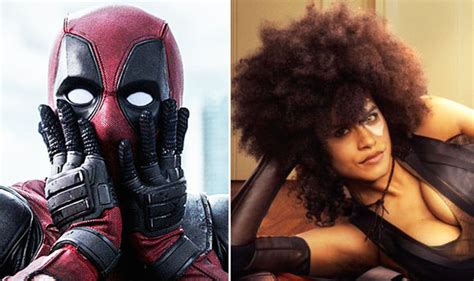actress playing domino in deadpool 2 deadpool 2 news ryan reynolds reveals that he is filming