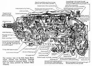 Engine Cutaway Drawings