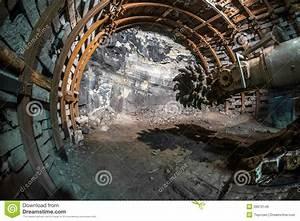 Mining Machine In Coal Mine Stock Image - Image: 39670149