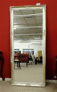 Großer Spiegel Silber : grosser spiegel wandspiegel farbe shiny silber mit facettenschliff 80 x 180 cm kaufen bei ~ Indierocktalk.com Haus und Dekorationen