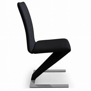 Lot De Chaise Pas Cher : lot de 2 chaises delano noir achat vente chaise salle a manger pas cher couleur et ~ Teatrodelosmanantiales.com Idées de Décoration