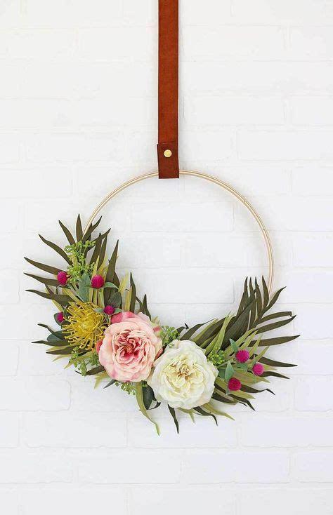 best 25 modern wreath ideas on pinterest natural