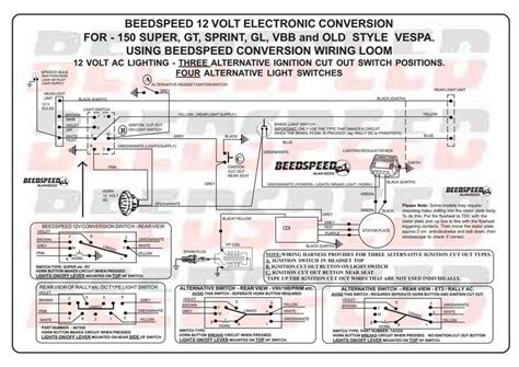 Modern Vespa Getting Knot Wiring Classic