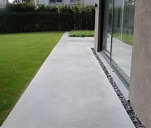 Beton Fliesen Terrasse : die 25 besten ideen zu terrasse beton auf pinterest ~ Michelbontemps.com Haus und Dekorationen