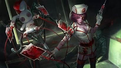 Heroes Newerth Nurse Rk Wallpapers Painkiller Nurses