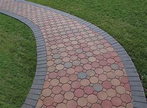 Awesome Combination Of Pavers Shape Design For Home Depot ...