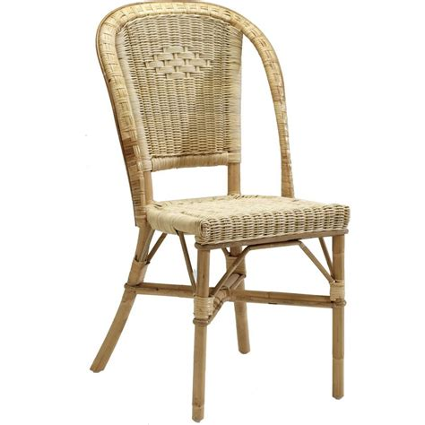 chaise en osier albertine rattan chair