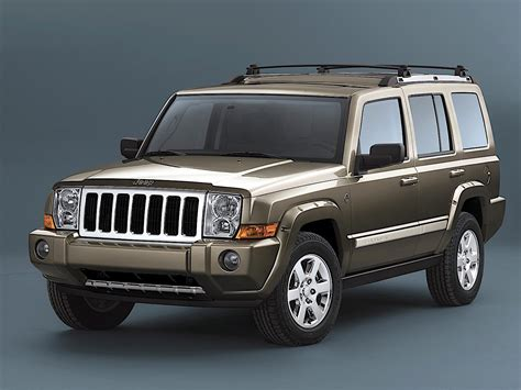Jeep Commander Specs & Photos