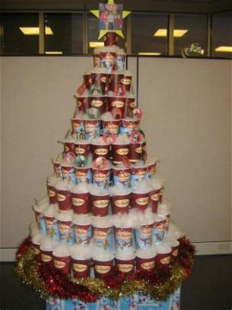 every cup christmas tree