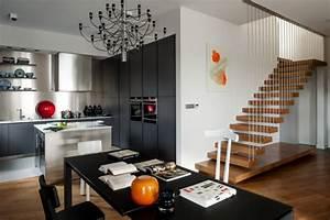 appartement moderne a linterieur design en pologne With photo interieur appartement moderne