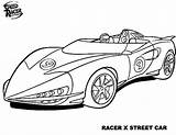 Racer Coloring Speed Pages Street Template Templates Tocolor Button Using sketch template