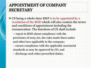 Compensation Letter Sample Resolution For Appointment Of A Company
