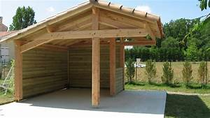 Abri De Jardin Ouvert : abri bois fait maison ~ Premium-room.com Idées de Décoration