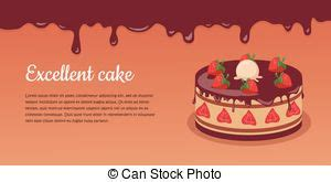 Piece Of Strawberry Pie Vector Illustration  Search