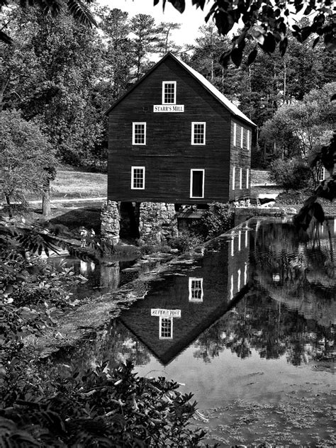 Georgia Grist Mill And Covered Bridges With The X Pro 1