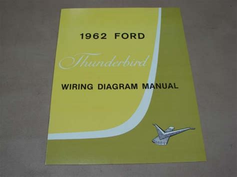 blt wd wiring diagram  thunderbird   ford