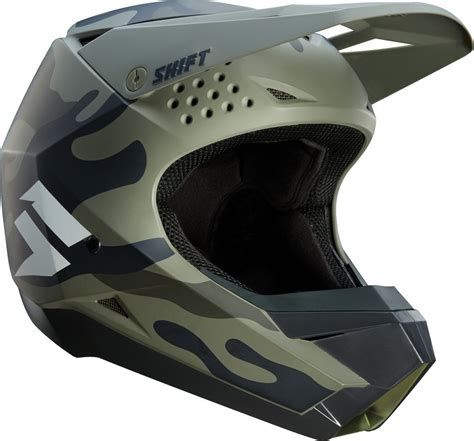 camo motocross gear 149 95 shift racing whit3 white label camo mx helmet 1051610