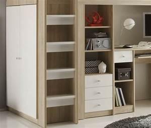 Kinderzimmer Mit Schreibtisch : ikea hochbett mit schreibtisch und schrank ~ Michelbontemps.com Haus und Dekorationen