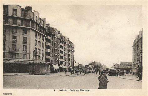 m 233 tro ou station porte de montreuil xxe arr cartes postales anciennes sur cparama