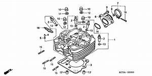 Cylinder Head For 2004 Honda Xr400