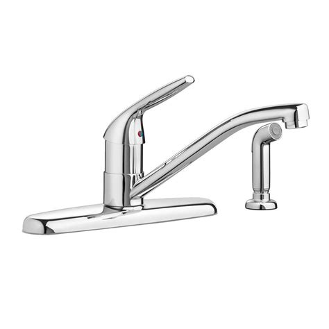 kitchen faucet with separate handle standard reliant single handle standard kitchen