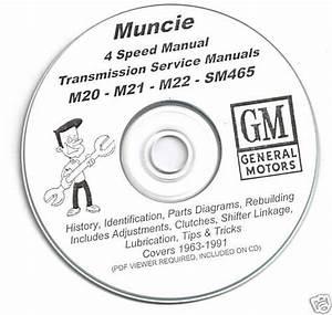 Sell Gm Muncie Four 4 Speed M20 M21 M22 Sm465 Rebuild