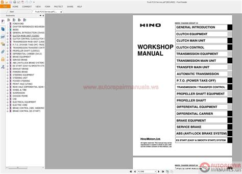 hino truck manuals pdf cd auto repair manual forum heavy equipment forums repair