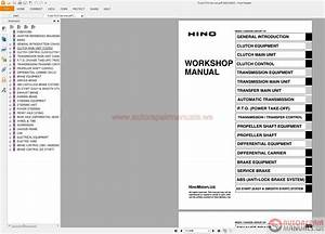 Auto Repair Manuals  Hino Truck Manuals Pdf Cd