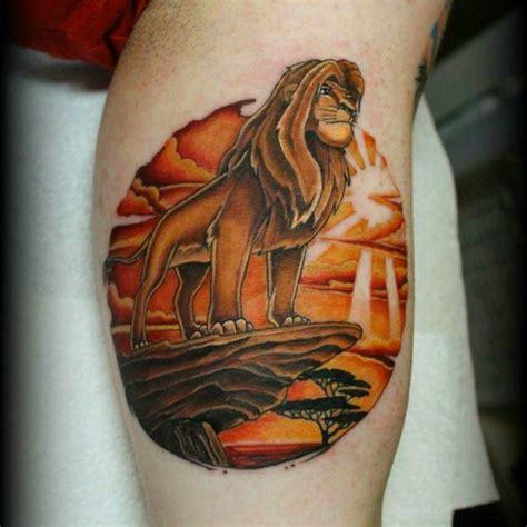 lion king tattoo  tattoo ideas gallery