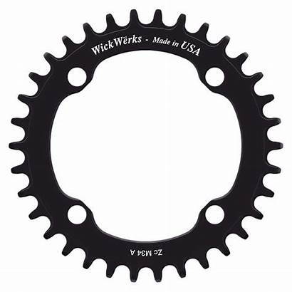 Narrow Wide Single Animation 1x Chainring Chainrings