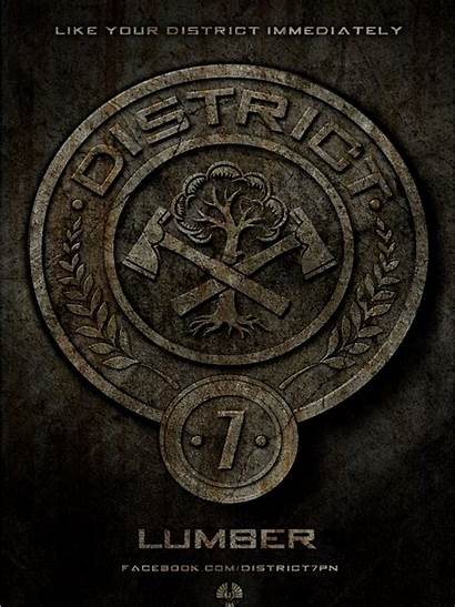Hunger Games District Districts Posters Wallpapers Lumber