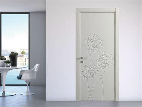 Porte Interne Senza Telaio - porta a battente laccata natura tarassaco bertolotto porte