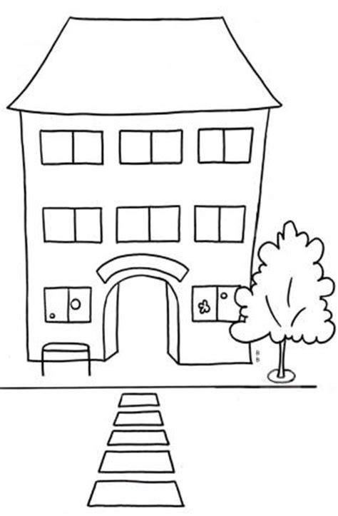 kostenlose malvorlage schule kostenlose malvorlage