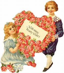 Victorian Mother's Day Clipart