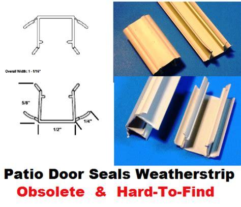 patio door side jamb head sill door seals obsolete weather strip hard  find parts biltbest