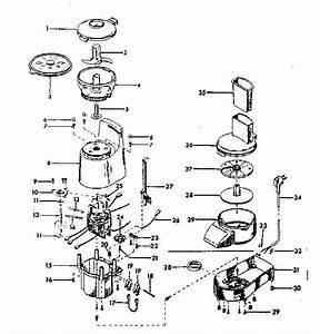 Sunbeam Model 14081 Oskar Kitchen Equipment Genuine Parts