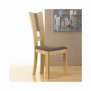 Chaise En Bois Massif : chaise contemporaine bois massif coin ~ Teatrodelosmanantiales.com Idées de Décoration