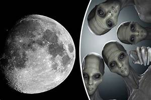 Aliens on the MOON: Top scientist claims oxygen moved from ...