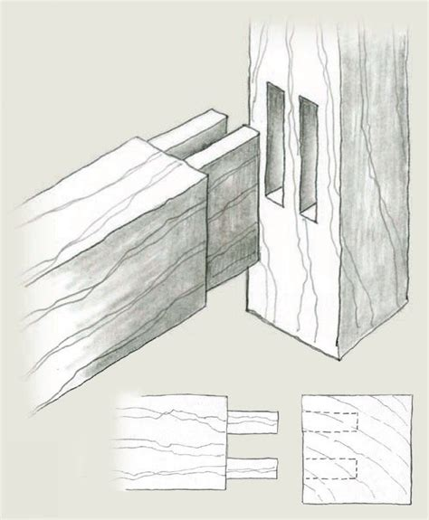 mortise  tenon variations finewoodworking