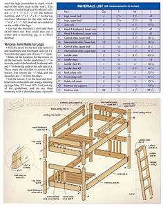 Mission Style Bunk Bed Plans • WoodArchivist