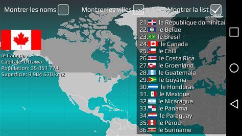 Quiz Pays Du Monde Carte by Carte Du Monde Quiz My