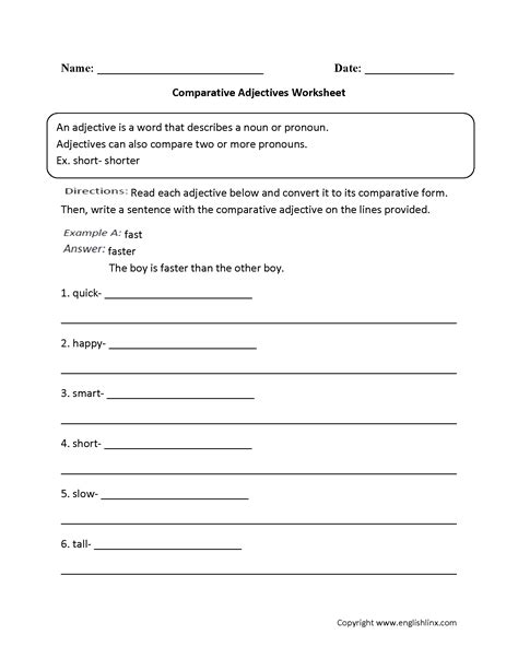 17 Best Images Of Comparative Adverbs Worksheets  Comparative And Superlative Adverbs