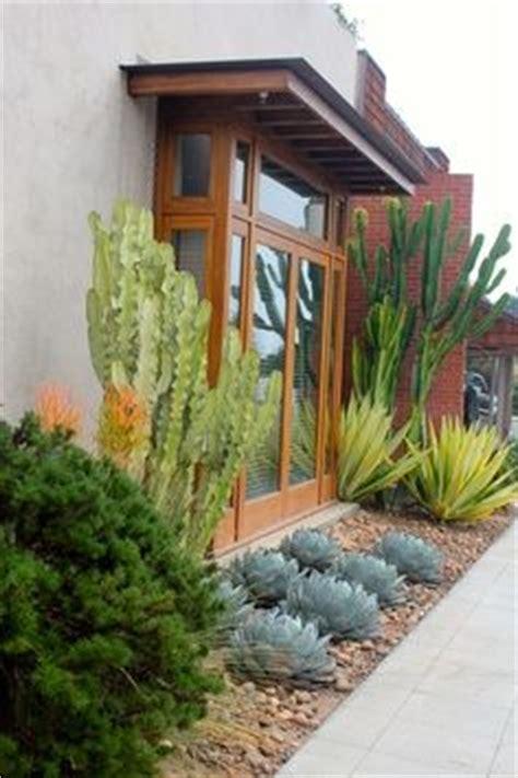 Porch Daniel Nolan by Modern Plant Bed Black River Rock Succulents Modern