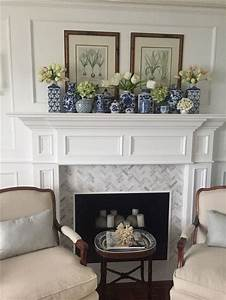 32, Stunning, Fireplace, Mantel, Decor, Ideas, You, Should, Copy, Now