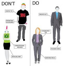 dont   interview dress code office meeting